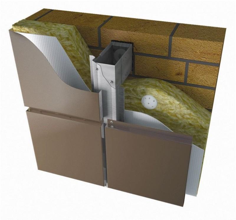 Навесные вентилируемые фасады и фасадные системы АЛЬТ